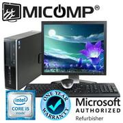 Refurbished Fast HP Pro Computer & LCD I5-3470 Quad Core 3.2Ghz 16Gb 2Tb WiFi Windows 10 Professional 64 Bit 1 Year Warranty