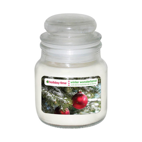 Holiday Time 3-oz Jar Candle, Winter Wonderland