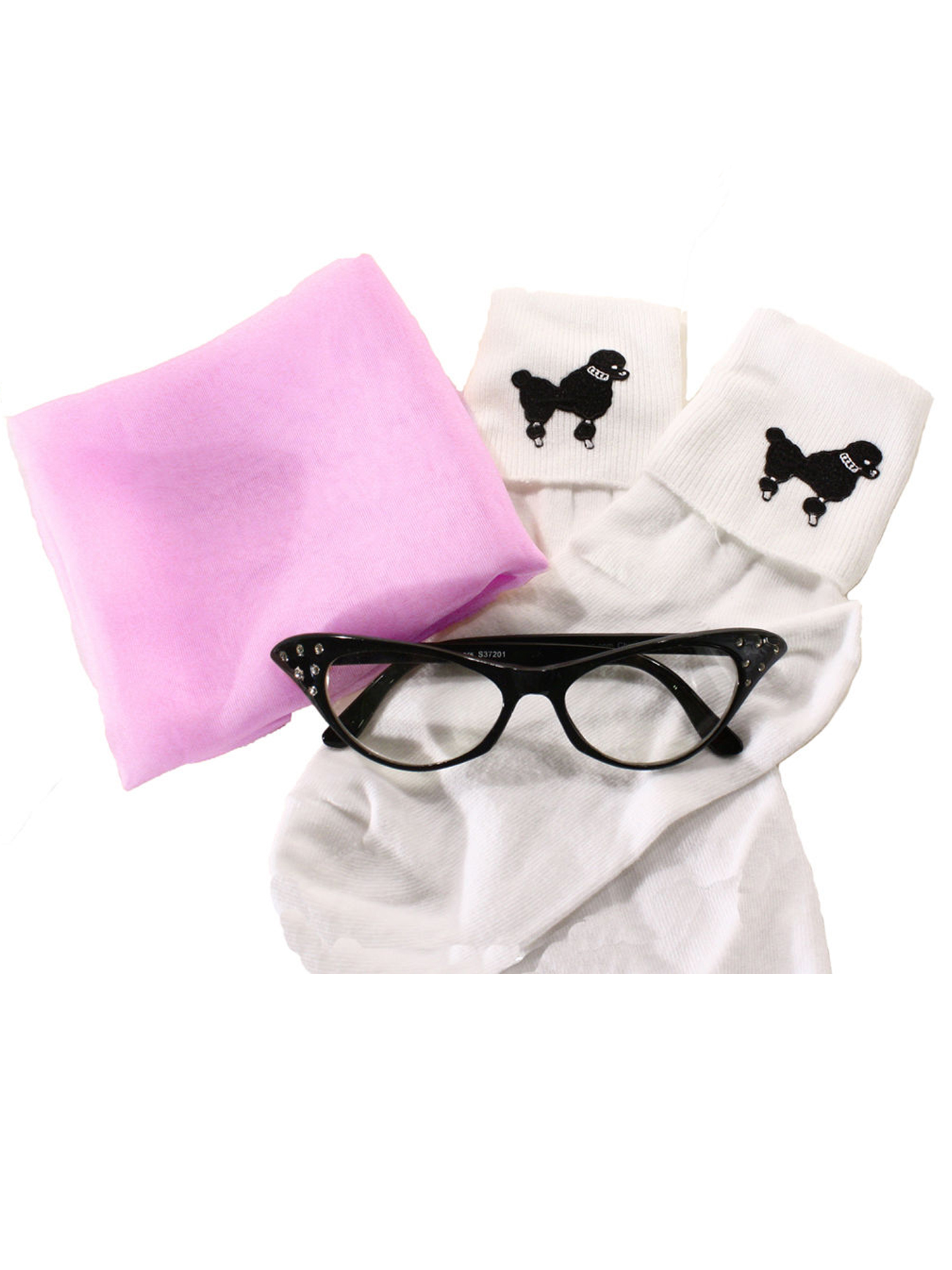 Clear Lens Hey Viv Retro Fun Colors 50s Style Cat Eye Glasses w Rhinestones