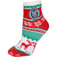 New York City FC ZooZatz Women's Christmas Ankle Socks - No Size