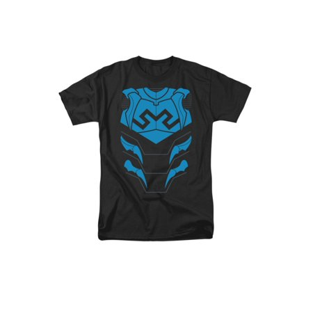 Justice League Of America DC Comics Blue Beetle Armor Costume Adult T-Shirt