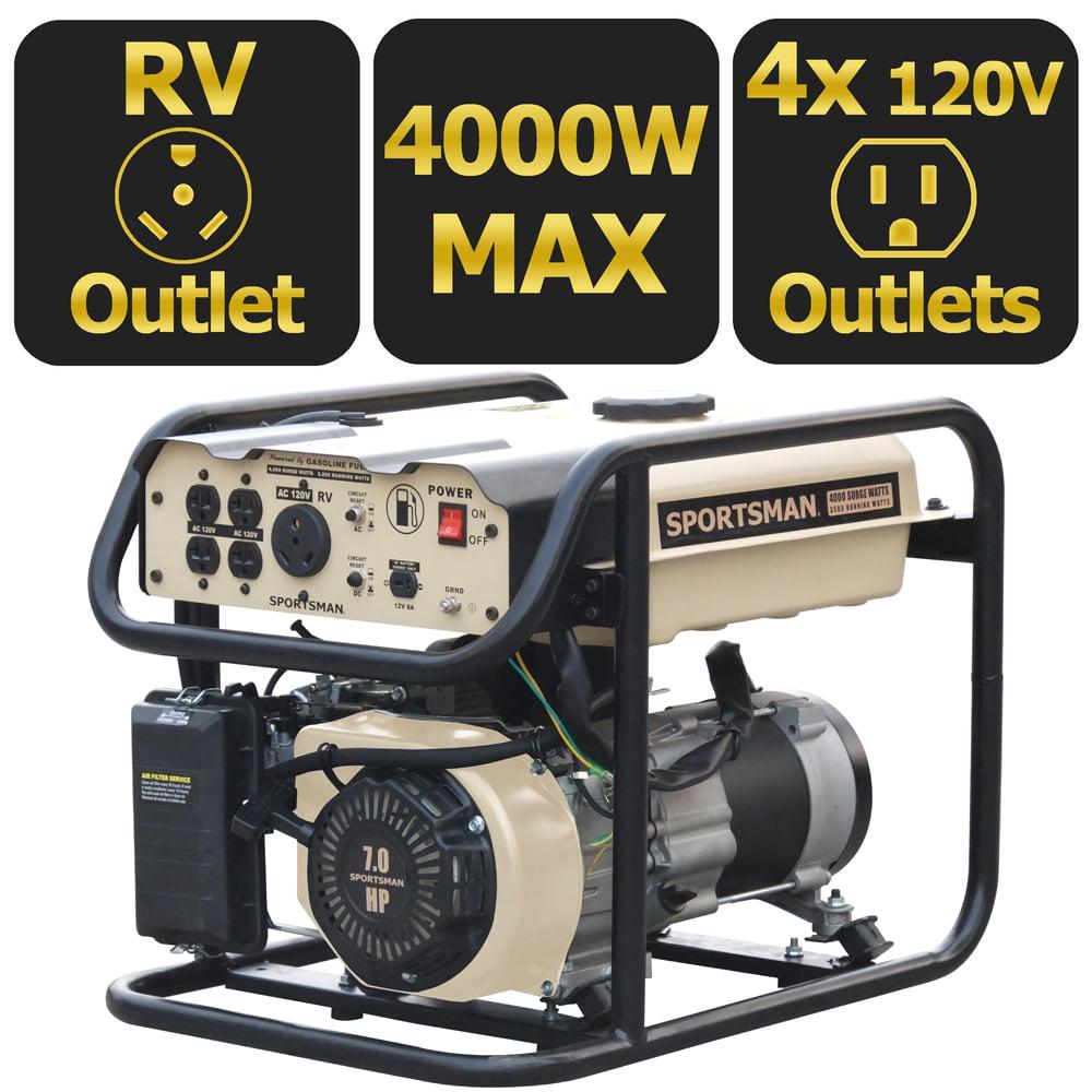 Sportsman Sandstorm Gasoline 4000 Watt Portable Generator