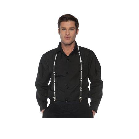 Black And White Halloween Coloring Pages (Underwraps Halloween Bones Formal Suspenders, Black White,)