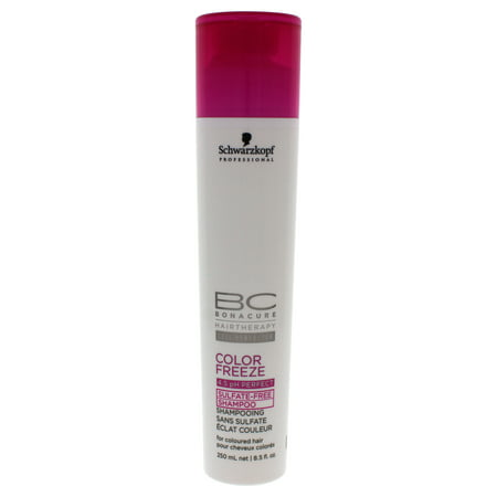 BC Bonacure Color Freeze Sulfate-Free Shampoo by Schwarzkopf for Unisex - 8.5 oz Shampoo