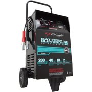 Schumacher SE-4022 2/10/40/200 Amp Manual Wheeled Battery Charger and Tester