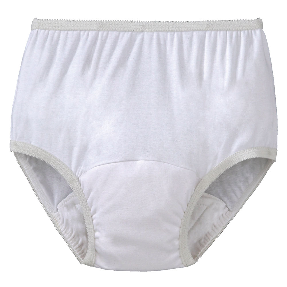 Women's Incontinence 10 Ounce Briefs - set of 3