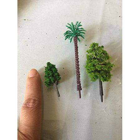 OrgMemory 29pcs Mixed Model Trees 1 5-6 inch(4 -16 cm), Ho