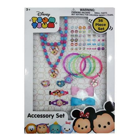 c5fcfe029a50e Tsum Tsum Disney Charm Bracelet Necklace Ring Accessory Set