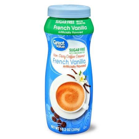 Great Value Sugar-Free French Vanilla