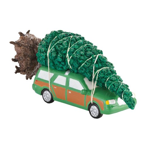 Department 56 Original Snow Village The Griswold Family Christmas Tree Accessory, 3.15-Inch