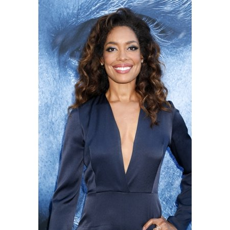Gina Torres At Arrivals For Game Of Thrones Seventh Season Premiere The Music CenterS Walt Disney Concert Hall Los Angeles Ca July 12 2017 Photo By Priscilla GrantEverett Collection Celebrity - Vegas Halloween 2017 Concerts