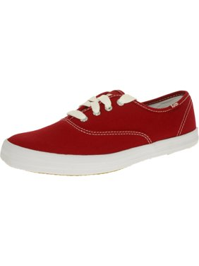7cb88d057c6 Product Image Keds Women s Champion Canvas Red Ankle-High Fashion Sneaker  ...