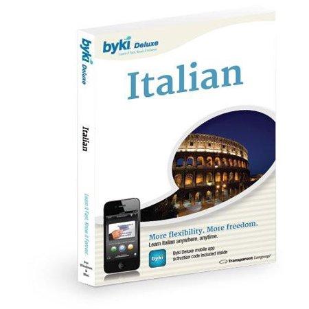 Byki Italian Language Tutor Software   Audio Learning Cd Rom For Windows   Mac