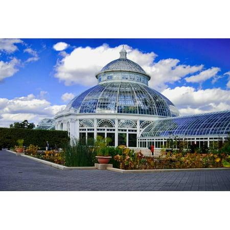 Haupt Conservatory, New York Botanical Gardens, Bronx, New York Print Wall Art By Sabine