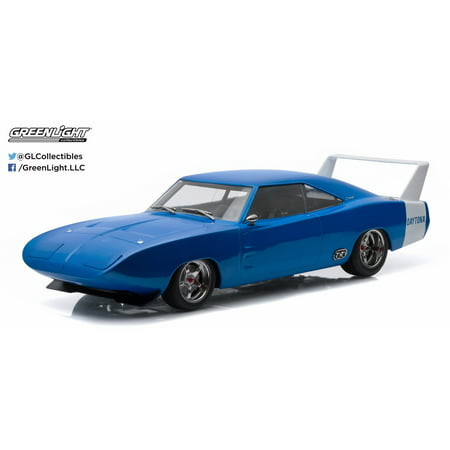 1:18 Artisan Collection - 1969 Dodge Charger Daytona Custom - Blue with White Rear (1969 Dodge Charger 426 Hemi For Sale)