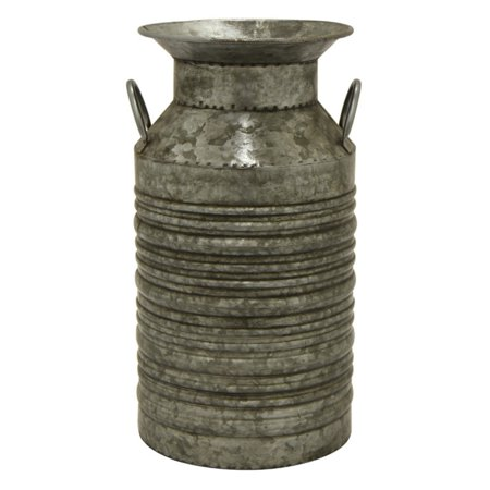 3 Hand Forged Metal (Three Hands 16.5 in. Galvanized Metal Jug)