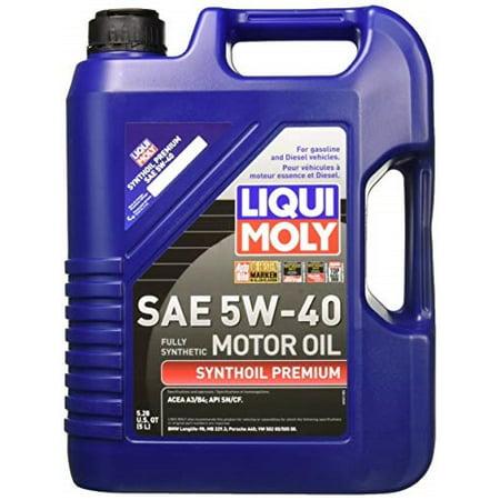 Liqui Moly 2041 Premium 5W-40 Synthetic Motor Oil - 5 Liter (Liqui Moly Profi Premium 5w 40 Basic)