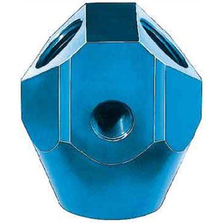 AEROQUIP 1/4in pipe/3/8in pipe Block FCM2178 Color Block Piping