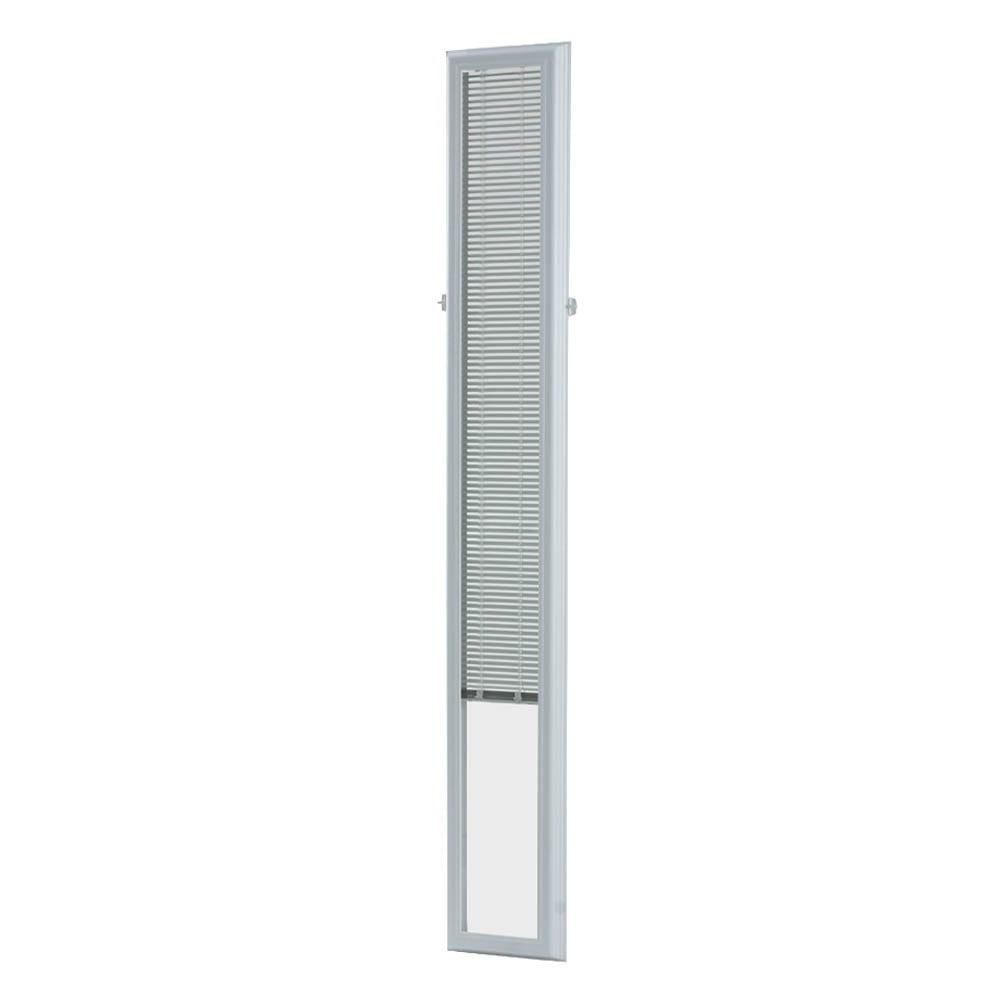 diy decorative ladder out of bamboo poles backyard x.htm odl white cordless add on enclosed aluminum blinds with 1 2 in  enclosed aluminum blinds