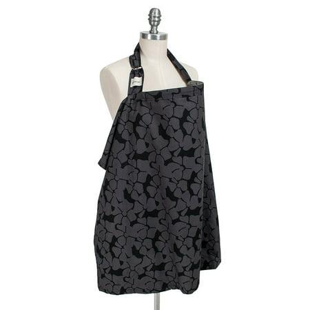 Bebe au Lait Nursing Cover - Organic Cotton - Midnight