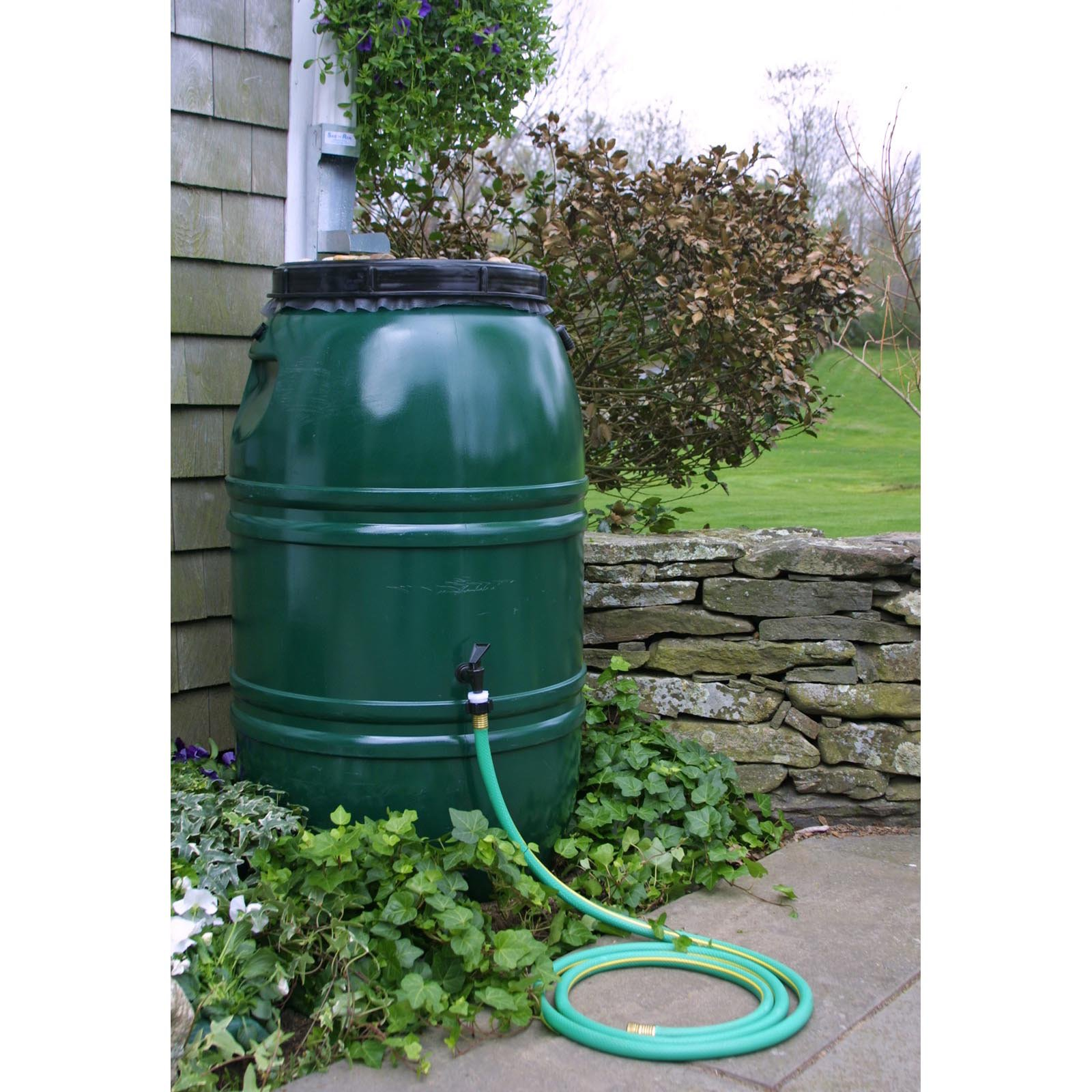 Great American Painted 60 Gallon Rain Barrel