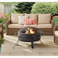 Better Homes & Gardens 30 Fire Pit & Table, Antique Bronze Finish