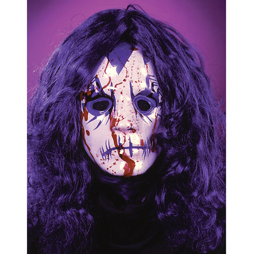Bleeding Rocker Mask Adult Halloween Accessory