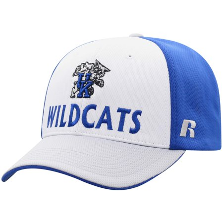 Men's Russell White/Gray Kentucky Wildcats Novice Adjustable Snapback Hat - OSFA