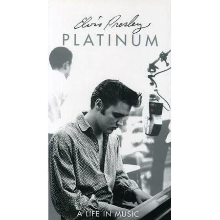 Platinum - Life in Music (4 CD - Life Size Elvis