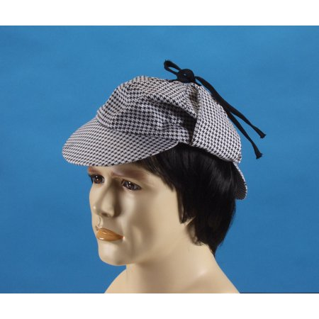 Star Power Classic Detective Costume Hat, Black White, One Size - Detective Hats