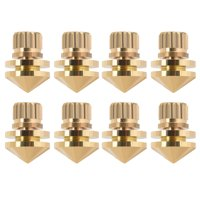 Mgaxyff 8 Pcs Copper Speaker Suspension Spikes Isolation Stands Foot Base Pad, speaker stand, speaker isolation pad