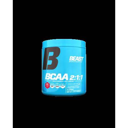 Beast Sports Nutrition Bcaa 2 1 1 Powder   30 Servings Beast Punch  Bcaas