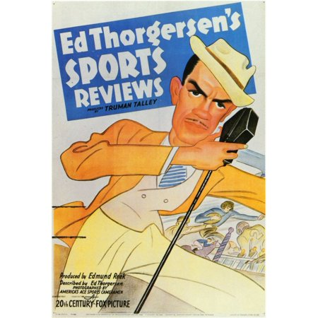 Ed Thorgersen's Sports Reviews POSTER Movie Mini Promo