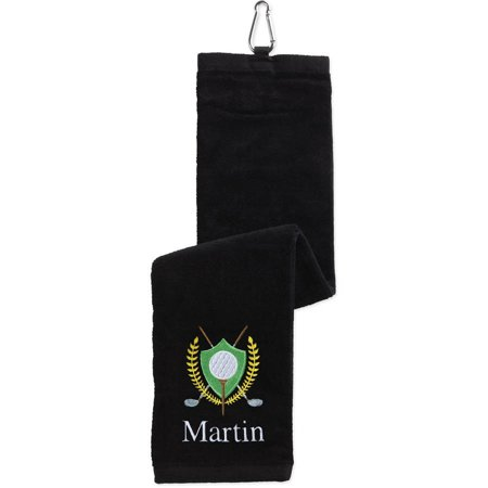 Golf Crest Personalized Golf Towel