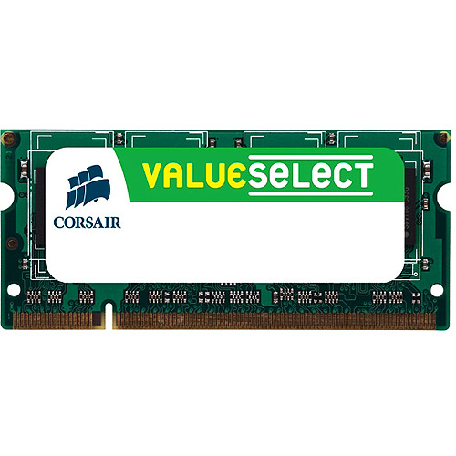 Corsair Memory VS512SDS266 512MB PC2100 266MHz 200-pin SODIMM Laptop Memory