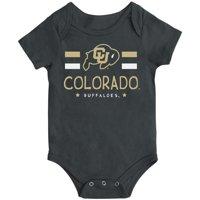 Colorado Buffaloes Colosseum Newborn & Infant Core Biggest Fan Bodysuit - Black