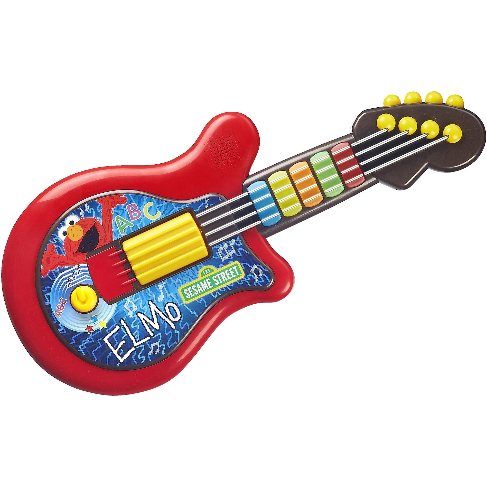 Playskool Sesame Street Elmo Guitar Toy Walmart