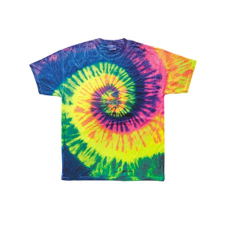 Tie-Dye Youth 5.4 oz. 100% Cotton T-Shirt (Cotton Tie Dye Skirt)