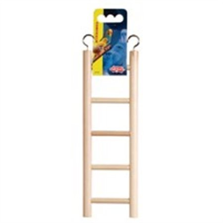 Lw Wooden Ladder - 5 Steps - Step Wooden Ladder