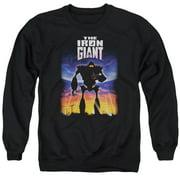 Iron Giant Poster Mens Crewneck Sweatshirt
