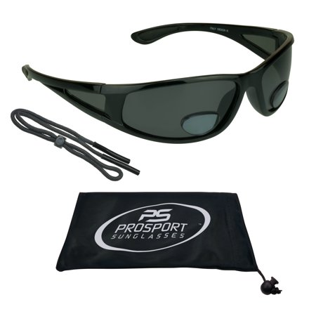 proSPORT Fly Fishing Polarized Bifocal Sunglasses with Side Shield Window. Free Sunglass Retainer (Sunglass Hut Sunglasses Repair)