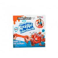 Craft City - Karina's Make Your Own Kool-Aid Edible Slime Kit - Blue Raspberry & Cherry Pack