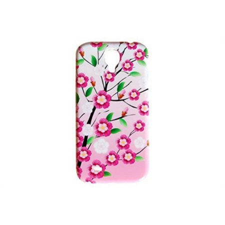 Cherry Blossom Flower Phone Back Cover for the Samsung Galaxy S4 Floral Case By iCandy -