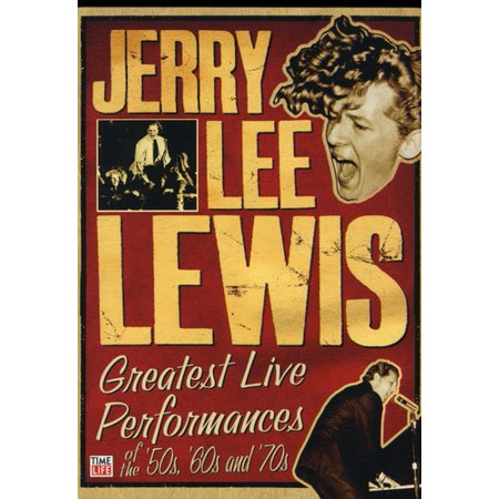 Jerry Lee Lewis: Greatest Live Performances of the 50s, 60s, And 70s (DVD) - 60s 70s Outfits