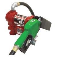 "FILL-RITE FR1210GA1 Fuel Transfer Pump, 12VDC, 15 GPM, 1/4 HP, Cast iron, 1"""