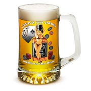 Erazor Bits VA116-T25oz-012 25 oz Beer Mugs with Handles Tankard Man Cave Gifts for Men or Women Liquor In The Front... by Erazorbits