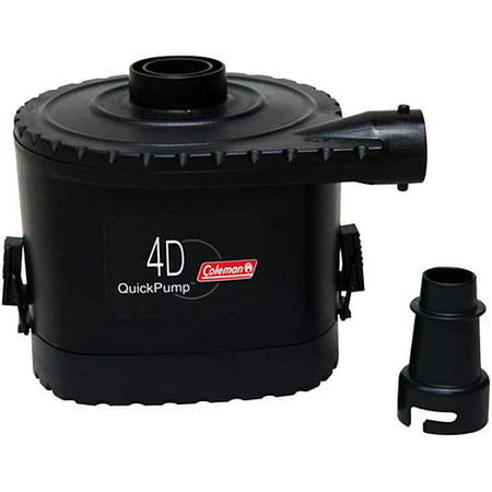 4d Pump Queen - Coleman 4D Battery QuickPump Electric Air Pump