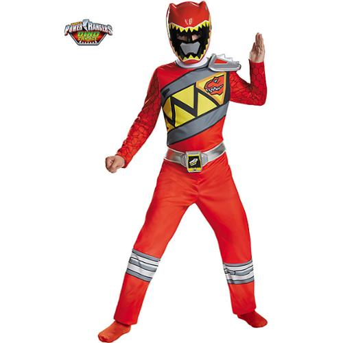 Red Ranger Dino Charge Classic Costume for Kids - Size M