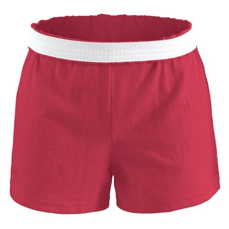 Soffe M037j624xsm Jcp Athletic Shorts For Junior  Rouge Red   Extra Small