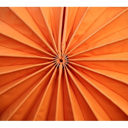 Canvas Print Orange Lampion Closure Picture Puzzle Weatherproof Stretched Canvas 10 x 14 (Lampions Halloween)